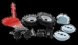 Pflug Set (Gummiräder, Gewichte, Pflug)