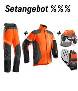 Setangebot Technical Hose, Jacke, Helm, Handschuhe