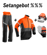 Setangebot Functional Hose, Jacke, Helm, Handschuhe