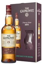 Glenlivet 15 Geschenkset mit 2 Gläsern