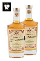 2x GIN & ZAFFERANO - 0,5 L - Zweite Flasche zum 1/2 Preis