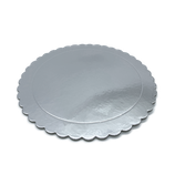 Base Tarta Rizada Plata 30 cm x 3 mm