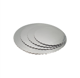 Base Tarta Rizada Plata 35 cm x 3 mm