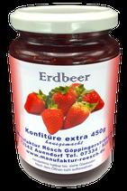 450g Erdbeer Konfitüre extra