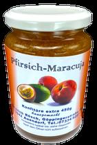 450g Pfirsich - Maracuja Konfitüre extra