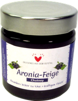 Aronia-Feige Chutney 220g