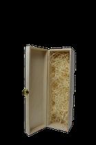Superior Geschenkbox Holz mit Holzwolle | 1-3 Flaschen