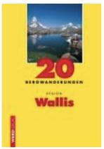 20 Bergwanderungen Region Wallis