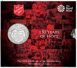 Jubiläumsmünzen 150 Jahre Heilsarmee