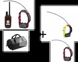 Pack alpha 100F avec 2 colliers TT15F et 1 Collier T5F