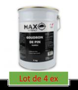Attractif sanglier goudron de pin Max Attract - Seau métal  5 kg     X 4
