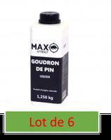 Attractif sanglier goudron de pin Max Attract - Bouillote plastique 1,25 kg    X  6 exemplaires