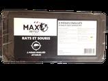 Raticide Max Protect - Pièges englués jetables