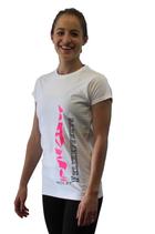 T-Shirt weiß (w) Handstand