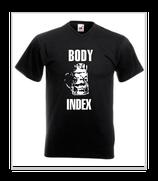 Shirt Nr: 65/  Body-Mass-Index    ///// Größe M * Frauen