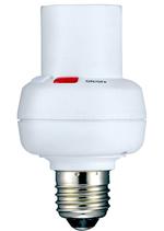 Somfy RTS-Lampenfassung ON/OFF RTS mit E27 Fassung bis 60W. Die Lampenfassungen mit RTS Funk sind kompatibel zu Somfy TaHoma Connect.