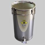 Abfüllbehälter Edelstahl 50 kg