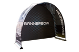 BANNERBOW® Set Black/Alu/Outdoor und Backdrop light