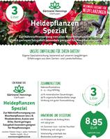 Heidepflanzen Spezial - Besonders geeignet für Neuanpflanzungen