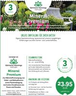 Mineral Premium - Für Kübel, Balkon, Flächendüngung. Wirkt bis 3 Monate!