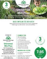 Universal Min Plus. Kübel, Balkon, Flächendüngung als Sofortwirkung