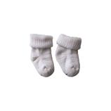 Baby sokjes merinowol, ecru of grijs