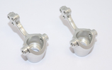 (2) GPM Alu Tuning KNUCKLES für Gmade R1 / Sawback, Silber