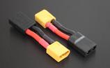 Adapter XT60 / XT90 (Stecker) auf TRX (Buchse)