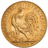 20 Francs Or  Coq Marianne