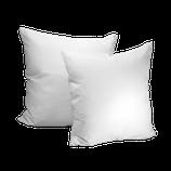 Polster (Kissen) weiß 40x40 cm