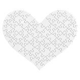 Herz Puzzle Medium 63 Teile DIN A4