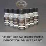 Scalp Pigmente Level 1 bis 7 im Set jede Flasche  10ml