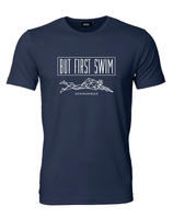 Herren T-Shirt BUT FIRST SWIM