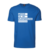 Herren T-Shirt WATER IS MY PLAYGROUND