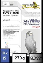 EVO 71110, glossy, 10x15, 270 gr. | 100 Blatt