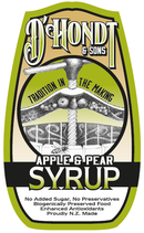 Bio-fermented Apple & Pear Syrup