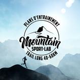Plan d'entrainement trail format M (40-60km)
