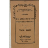 Levin Julius, Das Lächeln des Herrn von Golubice-Golubicki