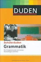 Schülerduden Grammatik Deutsch