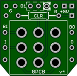 3PDT Wiring Board (PCB)
