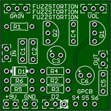 Fuzzstortion Pedal Kit