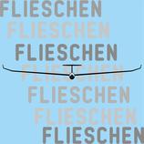 Segelflugzeug Winglets Frontansicht