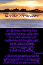 In stiller Anteilnahme - Bibelspruch