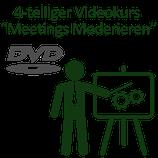4 DVDs - Moderation von Meetings Videokurs