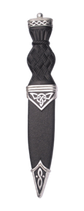 Sgian dubh celtic plain top
