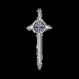 Kilt pin celtic shield polished