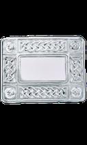 Kilt belt buckle celtic polished