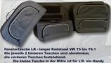 FENSTERTASCHEN FÜR DEN VW T5 BIS T6.1 MIT LANGEM RADSTAND