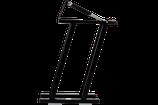 Multiflexboard Konsolen klappbar inkl. Gasdruckfedern + Board in schwarz
