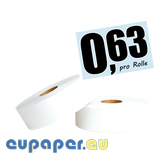 Toilettenpapier mittelgroße Rolle, 100% Zellstoff, 2-lagig